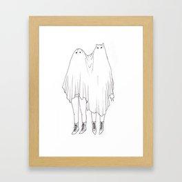 Little Ghosts Framed Art Print