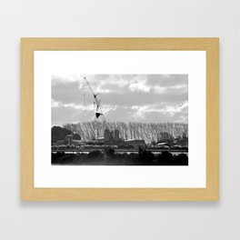 The Modern Hunter Framed Art Print