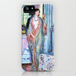 The Robe - Frederick Carl Frieseke iPhone Case