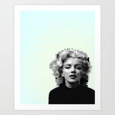 Marilyn Mosaic Art Print