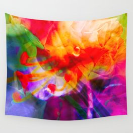 Flower Power Wall Tapestry