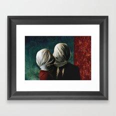 Les AMANTS Framed Art Print