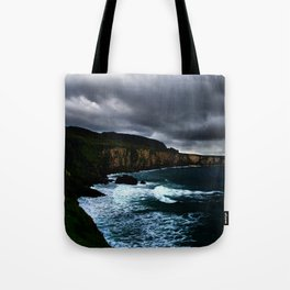 Irish Seascape Tote Bag