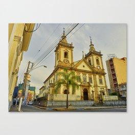 Old Basilica Canvas Print