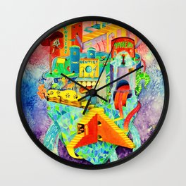 Invisible Cities-TAMARA【隐形的城市·插画】 Wall Clock