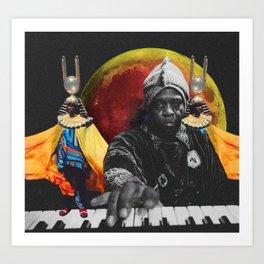 SUN RA MAGIK Art Print