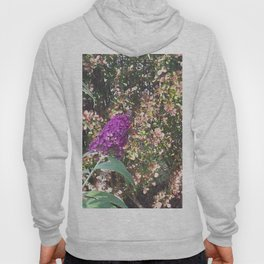 Budleja with butterfly Hoody
