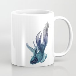 Ombre Fish Coffee Mug