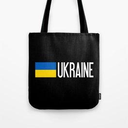 Ukraine: Ukrainian Flag & Ukraine Tote Bag