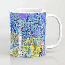 seattle city skyline Coffee Mug
