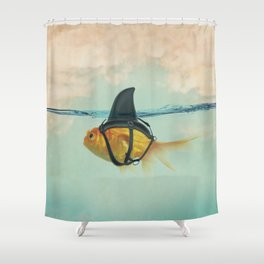 Brilliant Disguise (RM) Shower Curtain