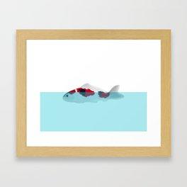 KOINOBORI Framed Art Print