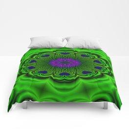Queen of Heart Kalaeidoscope Comforters