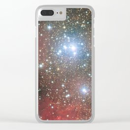 Star Cluster NGC 6604 Clear iPhone Case