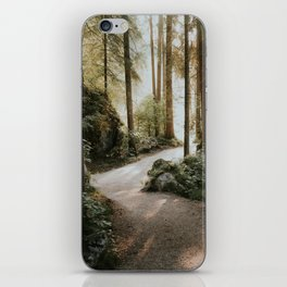 Lost in the Forest - Landscape Photography iPhone Skin