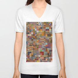 Ethnic Patterns Unisex V-Neck