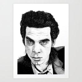 """Nick Cave"" Art Print"