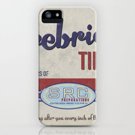 SRC Preparations. Racecar Rebels. Firebridge Poster Cream iPhone Case