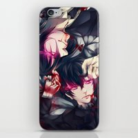 black butler iPhone & iPod Skins featuring Black Butler by 1MI0