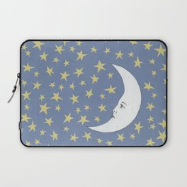 To the Mooon to the Starrs Laptop Sleeve