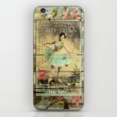 KEEP CALM - and point your toes iPhone & iPod Skin