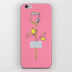 Rosewall (on pink) iPhone Skin