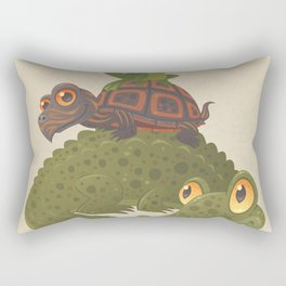 Swamp Squad Rectangular Pillow