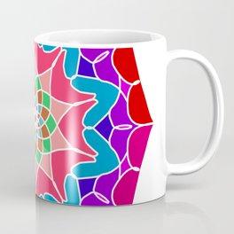 Meditation mandala in energizing colors Coffee Mug