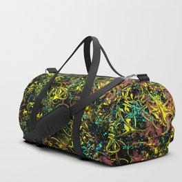 Fluid Abstract 06 Duffle Bag