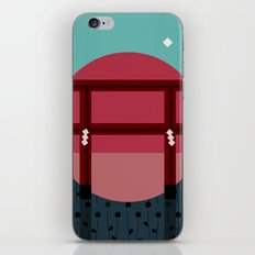Snowing Sunset iPhone & iPod Skin
