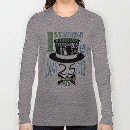 5K WEDDDING RUN Long Sleeve T-shirt