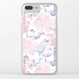 Dorothy's Roses Clear iPhone Case