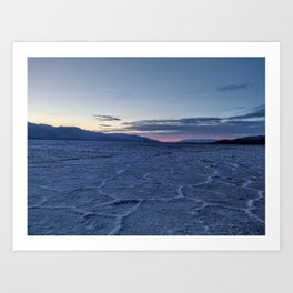 This Thing is Death Valley Art Print