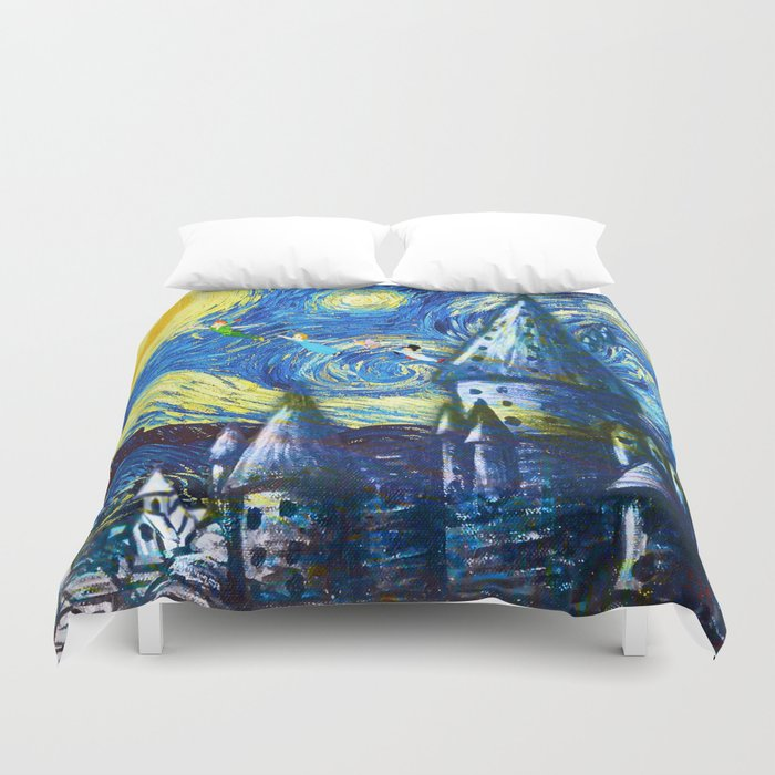 Fly with friends Duvet Cover