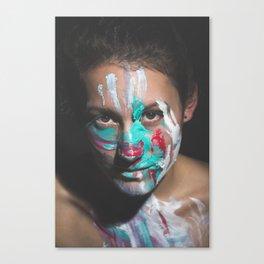 Colors of Women, J.F. Canvas Print