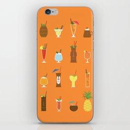 Tiki Drinks iPhone Skin