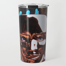 Suzie then removed her mask and caused a mighty stir Travel Mug