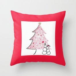 Christmas Love Throw Pillow