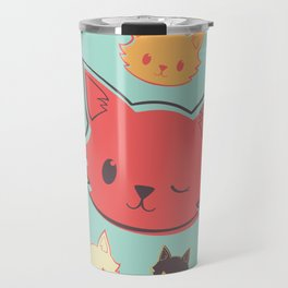 Kitty Wink Travel Mug