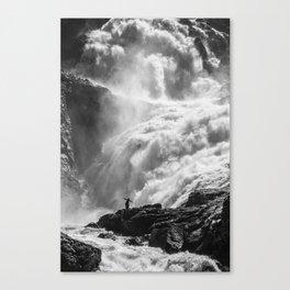 Dancing Falls Canvas Print