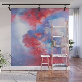 Stay with me between the Clouds and your Dreams Wall Mural