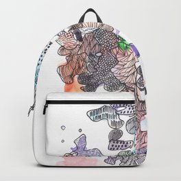 170321 Spring Watercolour 7| Micron Pen Drawing Backpack