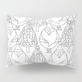 Mr. Claus - Coloring Book Pillow Sham