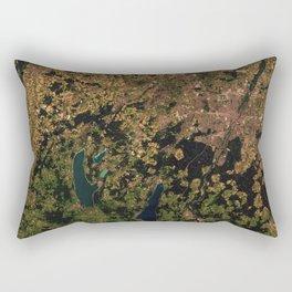 Munich & Augsburg, Germany Rectangular Pillow