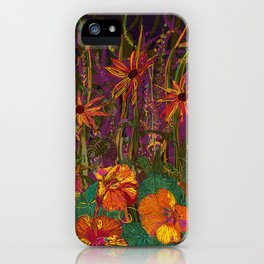 You Can Get By (Autumn Flowers) iPhone Case