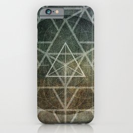 Tetrahedron Ignis iPhone Case