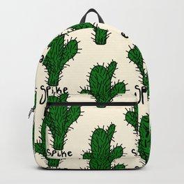 spike pat. Backpack