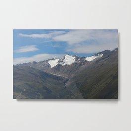 obergurgl tirol alps Metal Print