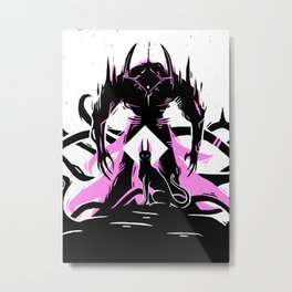 Judgement and The Jackal Metal Print