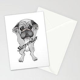 Surrender dog Stationery Cards